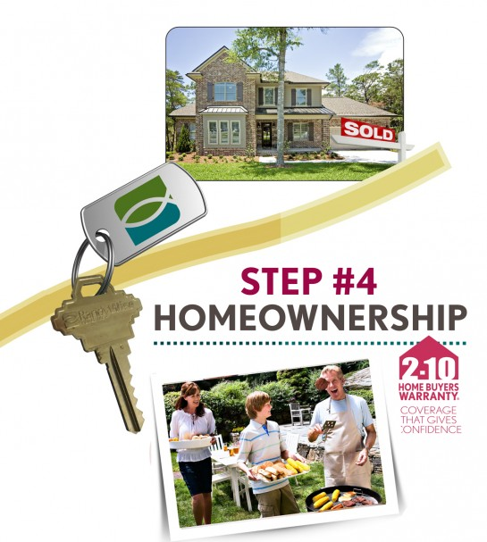 Step 4: Home Ownership. 2-10 Home Buyers Warranty - Coverage that gives you confidence.