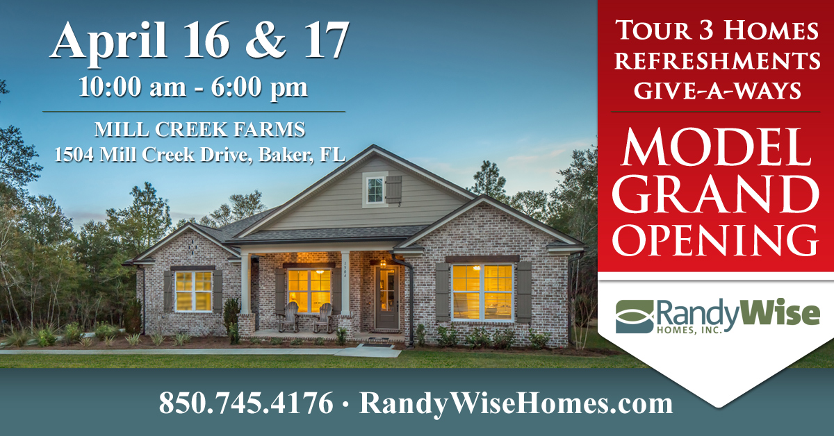 Mill Creek Farms Model Home Grand Opening
