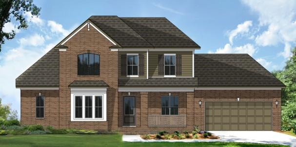 Hillside with walkout basement randy wise homes for Hillside walkout house plans