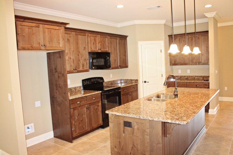 Brooke Model Home kitchen