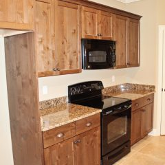 Brooke Model Home kitchen countertops
