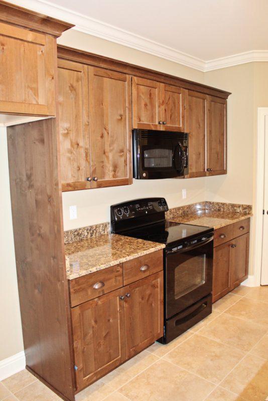 Brooke Model Home kitchen countertops