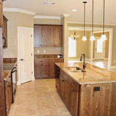 Brooke Model Home kitchen area