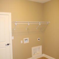 Brooke Model Home laundry