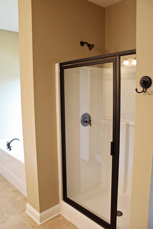 Brooke Model Home shower