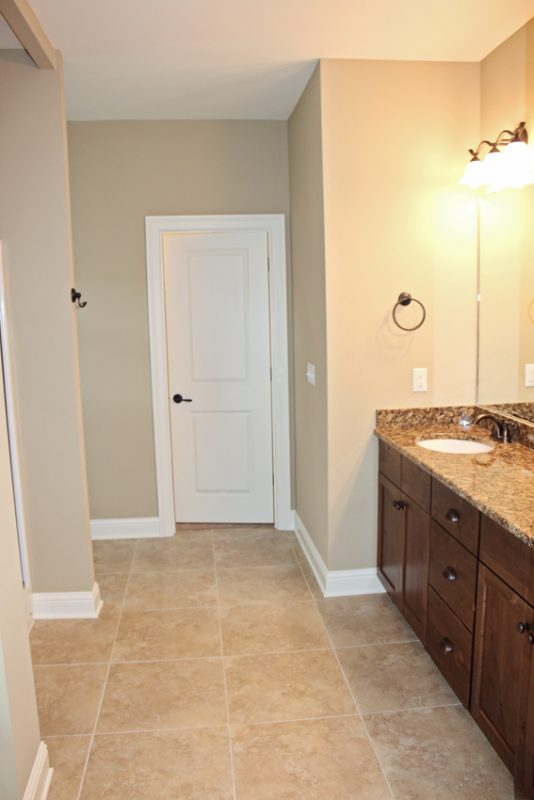 Brooke Model Home bathroom