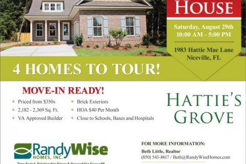 Hattie's Grove Model Home Grand Opening