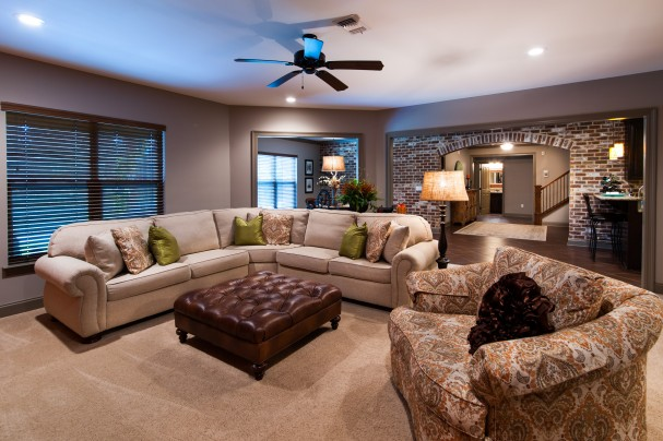 Walkout basement homes offer so many options randy wise for House plans with inlaw suite in basement