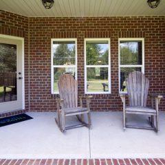 The Brooks porch