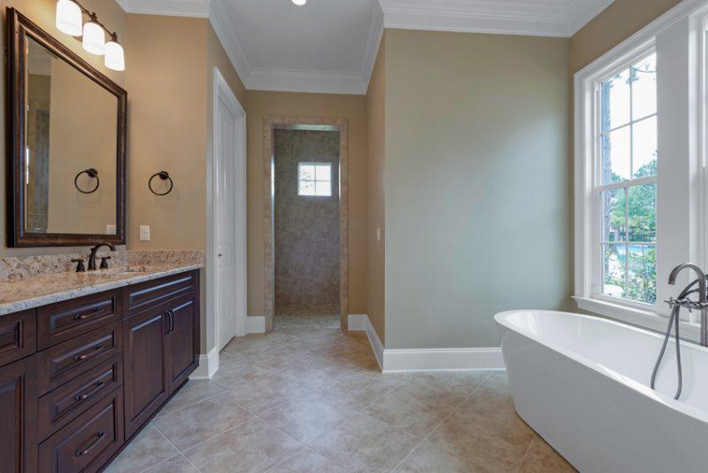 1630 San Marina master bathroom area