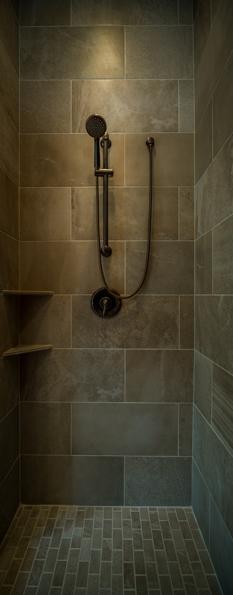 Park View Place Lot 21 master bath room shower