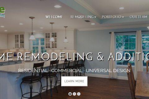 Screenshot of Randy Wise Remodeling website