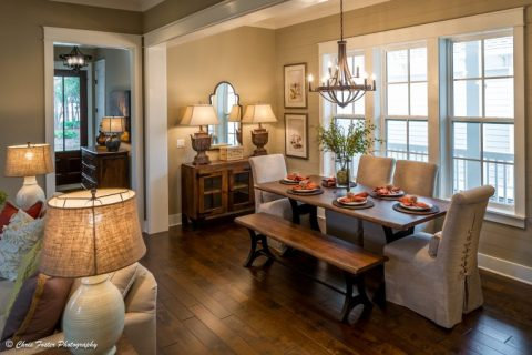 Park View Place Model Home Dining Nook