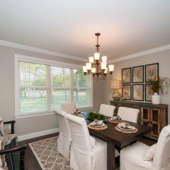Hammock Bay model home dining room