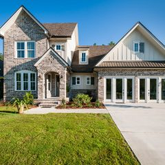 Hammock Bay model home front exterior
