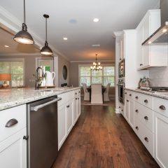 Hammock Bay model home kitchen length