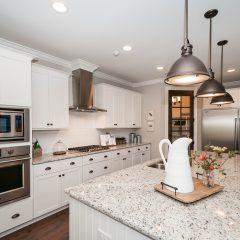Hammock Bay model home kitchen countertop
