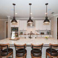 Hammock Bay model home kitchen bar