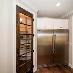 Hammock Bay model home kitchen fridge