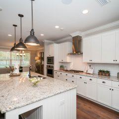 Hammock Bay model home kitchen