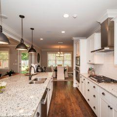 Hammock Bay model home kitchen area