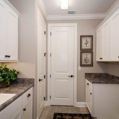 Hammock Bay model home laundry room