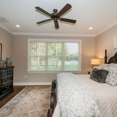 Hammock Bay model home master bedroom window