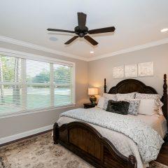 Hammock Bay model home master bedroom