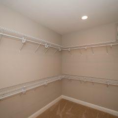 Hammock Bay model home master bedroom closet