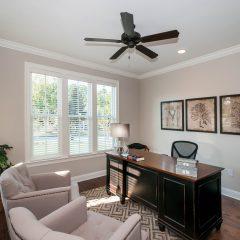 Hammock Bay model home office room