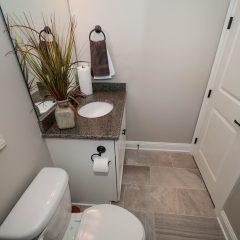 Hammock Bay model home office bathroom
