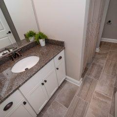 Hammock Bay model home guest bath room