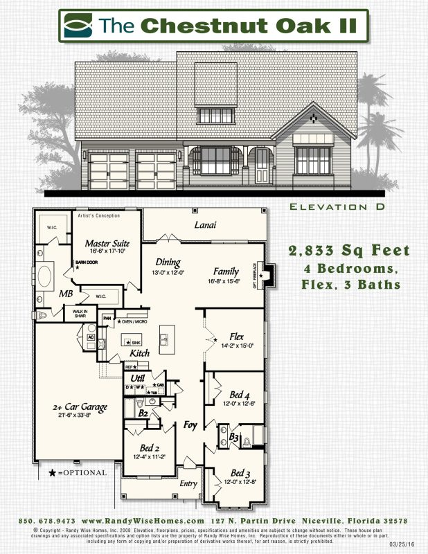 Chestnut Oak II Floorplan in Meadows at Hammock Bay