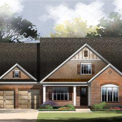 Chestnut Oak - Elevation C exterior