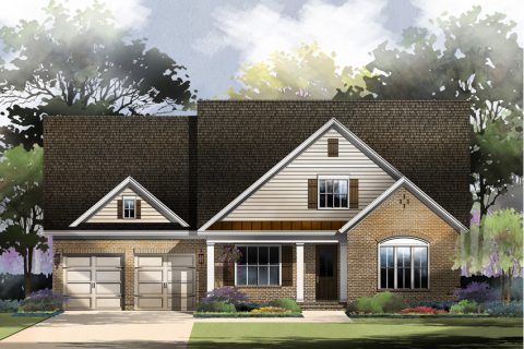 Chestnut Oak - Elevation A exterior