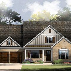 Chestnut Oak - Elevation B exterior