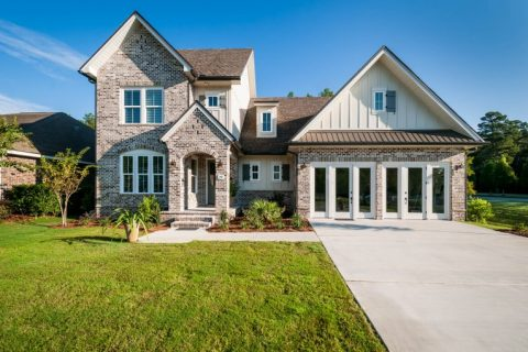 New Model Home in Hammock Bay exterior