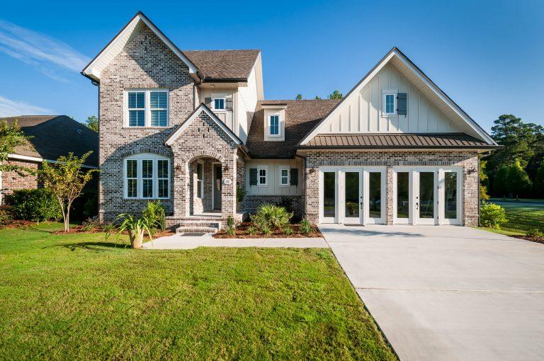 New Model Home in Hammock Bay exterior
