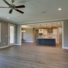Red Oak open Living Area