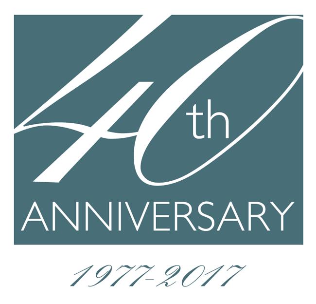 40th Anniversary - 1977 - 2017
