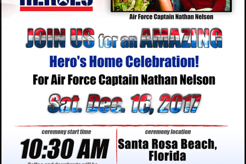 Building Homes For Heroes poster for Captain Nathan Nelson