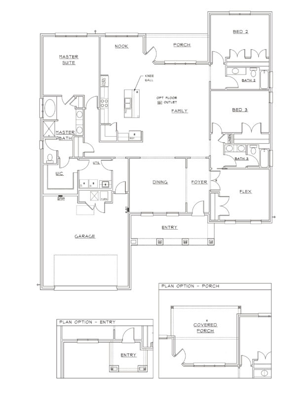 New Homes in Freeport, Florida. Live Oak II Floorplan in Meadows at Hammock Bay