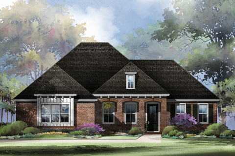 Artist rendering of a future Community Spirit home in the Mill Creek Farms area