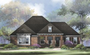 Artist Rendering of a future custom home