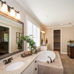 1504 Mill Creek Drive master bathroom