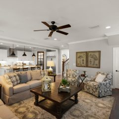 Blue Oak II Living Room
