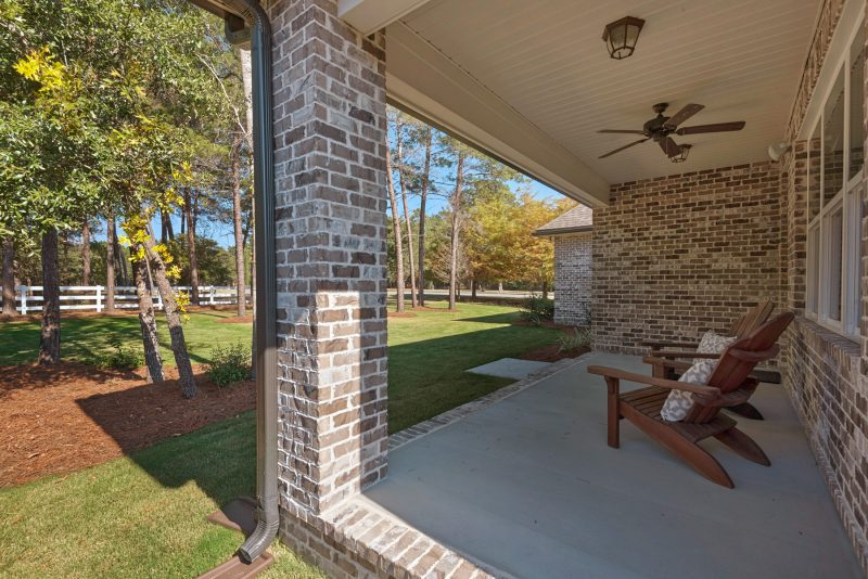 Blue Oak II Back Porch
