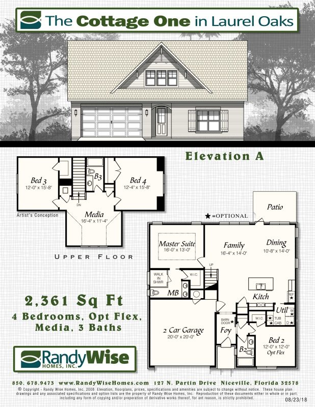 Cottage One Floorplan in Laurel Oaks