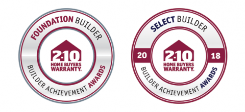 2-10 Builder Achievement Awards - Foundation Builder & Select Builder