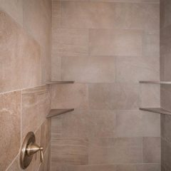 Laurel Oak Master Shower